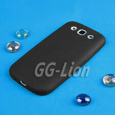 black.soft Silicon Case Skin Cover for Samsung Galaxy S III SIII S3 i9300