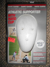 SAFE T GARD #344 ADULT ATHLETIC SUPPORTER W/HARD CUP  ADULT SIZE:  SMALL  NIB