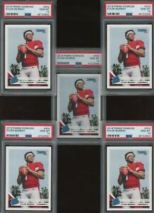 Investor Lot of (5) 2019 Donruss #302 Kyler Murray Cardinals RC Rookie PSA 10