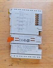 BECKHOFF KL1002 Eingangsklemme 24V DC 3,0 MS Filtertime -used-