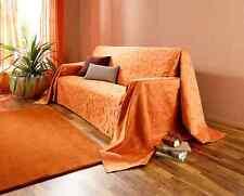 """Überwurf """"Indian Summer"""" (Größe: 210 x 380 cm)OrangeTagesdecke,Überwurf  *NEU*"""