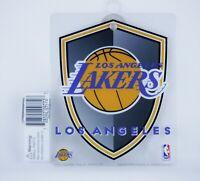 NBA Los Angeles LA Lakers Hanging Window Sign Logo Plastic 5.5 x 4.5 inches NEW