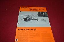 Fendt 231 255 275 GT Tool Carrier System Tractor Dealer's Brochure DCPA2