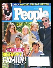 People Magazine April 4 2011 Bad Pitt EX No ML 013117jhe