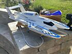 Miss Vegas Nitro Hydrocraft RC Boat W/Controller And Extras In Great Condition