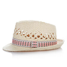 New Kids Straw Fedora Hats Summer Baby Hats Children Trilby Cap For 2-6 Years