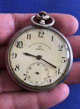 OMEGA Pocket Watch, Devlet Demir Yollari Rar watch , Swiss made 15 Jewels