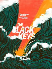 "050 The Black Keys - Art Print Rock Band Music Art 24""x32"" Poster"