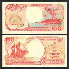 Billete de 100 Rupias año 1992 de Indonesia