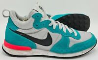 Nike Internationalist Mid Suede Trainers 716987-001 Hyper Jade UK7/US9.5/EU41