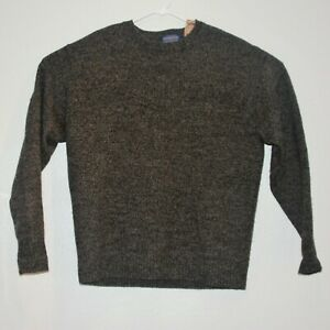 Pendleton Washable Wool Pullover Crew Neck Sweater Mens XL 100% Shetland Wool