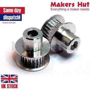 GT2 Pulley 12 - 80 Teeth 3mm - 12mm Bore - 3D Printer Timing Belt CNC Drive