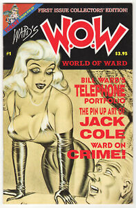 Ward's W.O.W. #1 1990 World of Ward Bill Ward Pinups Jack Cole Good Girl Art