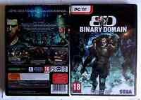 BINARY DOMAIN /JEU NEUF SOUS BLISTER POUR PC DVD-ROM EN VF