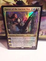 NARSET OF THE ANCIENT WAY - FOIL - Ikoria IKO Planeswalker Magic MTG CARD