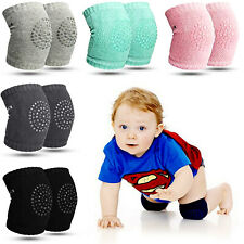 5 Pairs Crawling Knee Pads Safety Anti-slip Walking Leg Elbow Protector for Baby