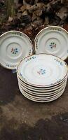 10 International Stoneware Heartland Plates Saucers Vintage International China