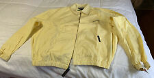 Tommy Hilfiger Golf Cotton Windbreaker Sands Jacket Sz L...