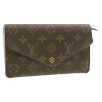 LOUIS VUITTON Monogram Portefeuilles Jeanne Long Wallet M62203 LV Auth 18777