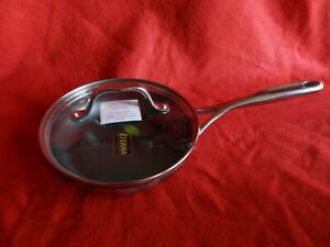 """Princess House Stainless Steel Nonstick 8"""" Skillet 6896 New With Original Box!!"""