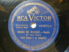 BENY MORE & PEREZ PRADO Victor 63-0075 78 MAMBO DEL RULETERO / LOCAS POR MAMBO