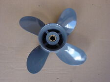 """Aluminium Propeller  91/4""""x10"""" 4 blade Honda 8-9.9-15-HP  58134-ZV4-010AH"""