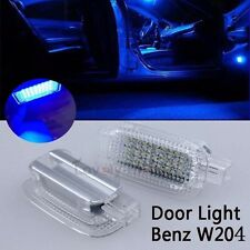 For Mercedes Blue Exact Fit LED Side Door/Vanity Mirror/Footwell/Trunk Lights