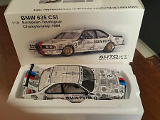 BMW 635 CSi AUTOART MILLENIUM SCALA 1:18