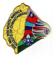 24th World Jamboree 2019 Scouts of China (Taiwan) Contingent Patch Badge #7 of 7