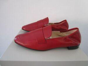 Högl Leder Ballerina Schuhe cherry/rot Oldkid-Leder Gr.38 UK5 NEU