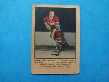 1951-52 Parkhurst # 5 Murray Bert Olmstead RC Rookie  Montreal Canadiens ( VG )