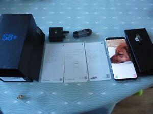 Samsung Galaxy S8 PLUS SM-G955F  64GB   (UNLOCKED) Orchid Grey Boxed
