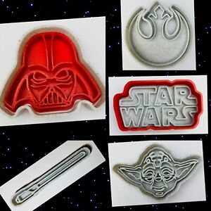 Set Of 5 Star Wars Cookie Cutters