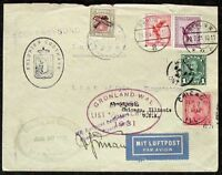 s812) Flugpost Gronau Transatlantik Flug 8.8 - 1.9. 1931 List - Chicago Flight