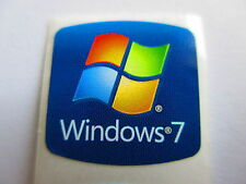 lIl Aufkleber Windows 7 win7 Sticker 20 x 20mm blau