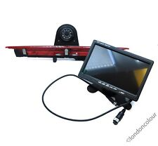 "Ford Transit Infrared LED Brake Light RearView Reverse Camera + 7"" Dash Monitor"