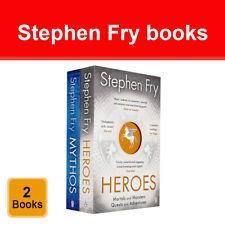 Stephen Fry Greek Myths Series 2 Books Collection Set Mythos Heroes Paperback