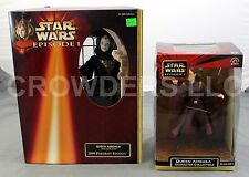Star Wars Episode 1 Queen Amidala Character Collectible & Black Travel Gown 1998