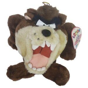 Vintage Ganz Looney Tunes Taz Plush Stuffed Tasmania Devil Warner Bros 1994