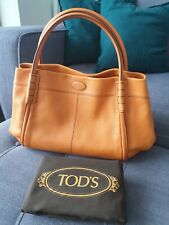 Tods Shade Leather Tote Bag (Large)