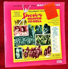 OST LP SWEDEN  HEAVEN AND HELL Piero Umiliani 1969 ARIEL SEALED