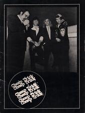 Cheap Trick 1979 Dream Police World Tour Program Book / Rick Neilsen / Vg 2 Nmt