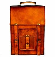 Large Leather bag for men shoulder bag men's Laptop BRIEFCASE bag  MESSENGER