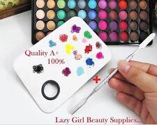 Metal Palette Set  Painting Makeup Beauty Salon Color Foundation Mixing Tool