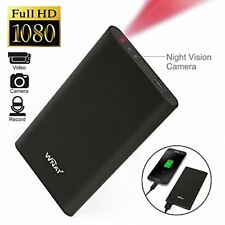 WNAT 1080P HD Spy DVR Hidden Camera 5000mAh Mobile Power Bank Camcorders Mini...