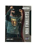 2019-20 Panini Prizm NBA Finalists Lebron James Insert 🔥🔥🔥🔥 4 Rings!