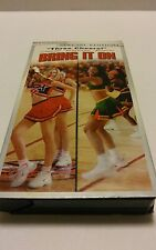 "2001 ""Bring it On"" W/Kirsten Dunst Universal Pictures Special Edition VHS Tape"