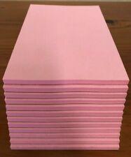 "Note / Scratch Pads-  4"" X 6"" -  ( PINK )  12 Pads  - 50 Sheets Per Pad"