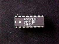 AD7524JN - AD7524 Analog Devices Integrated Circuit (DIP-16)