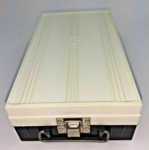 Zephyr Duofile 35mm Slide Storage Box Case Organizer Photography Vintage